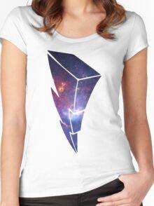 Morphinominal Power Rangers T-Shirt Women's Fitted Scoop T-Shirt