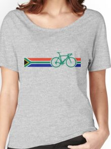 Bike Stripes South Africa Women's Relaxed Fit T-Shirt