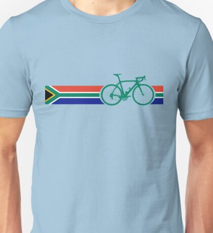 Bike Stripes South Africa Unisex T-Shirt