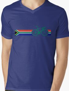 Bike Stripes South Africa Mens V-Neck T-Shirt