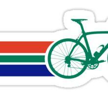 Bike Stripes South Africa Sticker