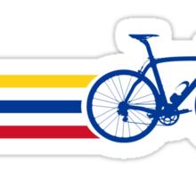 Bike Stripes Colombia v2 Sticker