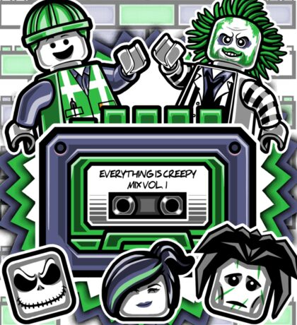 Everything is Creepy Mix Vol. 1 Sticker