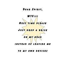 Dear Spirit Photographic Print