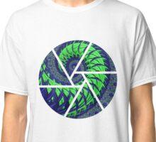SeaHawks Spiral Fractal Classic T-Shirt