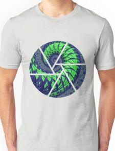 SeaHawks Spiral Fractal Unisex T-Shirt