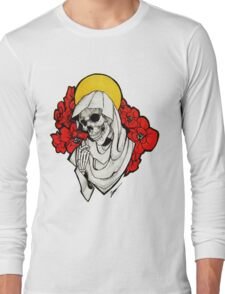 Death and Poppies Long Sleeve T-Shirt