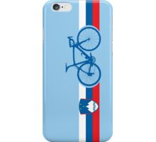 Bike Stripes Slovenia iPhone Case/Skin