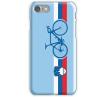 Bike Stripes Slovenia iPhone Case/Skin