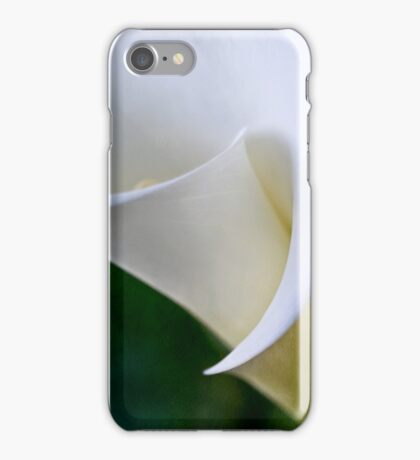 Speaking without words iPhone Case/Skin