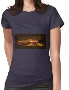 Solar warp 1 Womens Fitted T-Shirt