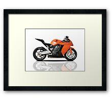 KTM RC8 Framed Print