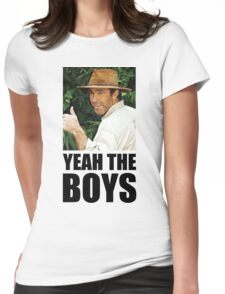 Yeah The Boys - Russell Coight Womens Fitted T-Shirt