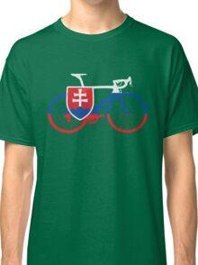 Bike Flag Slovakia (Big) Classic T-Shirt