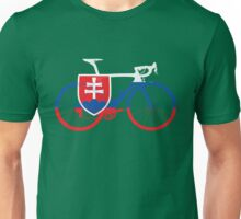 Bike Flag Slovakia (Big) Unisex T-Shirt