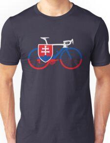 Bike Flag Slovakia (Big) Unisex T-Shirt