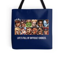 Difficult Choices Tote Bag