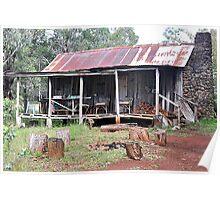 Rustic Shack - Nundle NSW Australia Poster