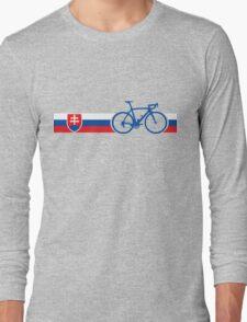 Bike Stripes Slovakia Long Sleeve T-Shirt