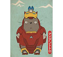 My Neighbour Iron Totoro Photographic Print