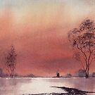 evening on the Broads by Neil Jones