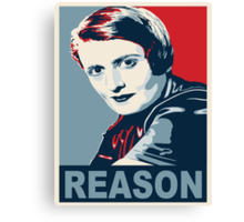 Ayn Rand Canvas Print