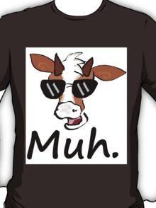 """Muh"" - Cool Cow T-Shirt"
