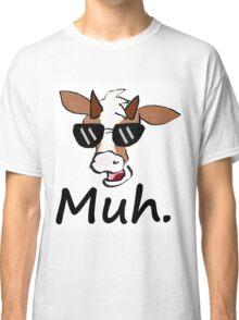 """Muh"" - Cool Cow Classic T-Shirt"
