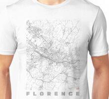 Florence Map Line Unisex T-Shirt