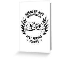Grandma and Granddaughter Greeting Card