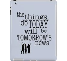 Tomorrow's News iPad Case/Skin