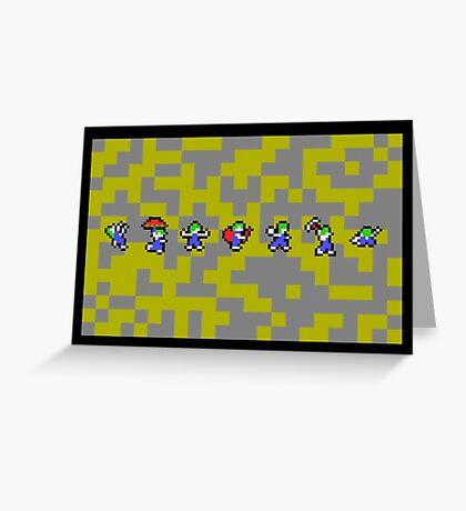 Lemmings Greeting Card
