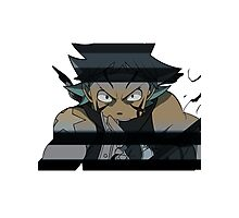 Black Star from Soul Eater Photographic Print