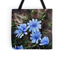 The Sky-Kissed Flowers Tote Bag