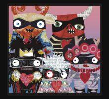 Artist Monsters Kids Tee
