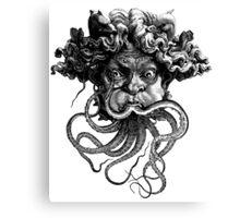 Grotesque face Canvas Print