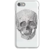 "Crâne humain ""Bubble"" iPhone Case/Skin"