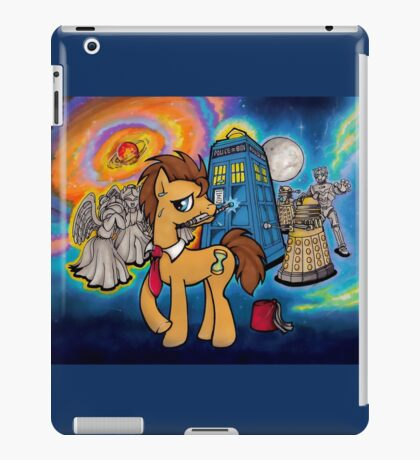 Doctor Whooves - Galaxy iPad Case/Skin