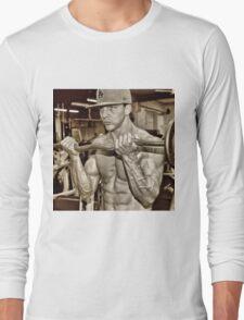 MAN OF STEEL Long Sleeve T-Shirt