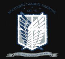 Scouting Legion Recruit by KcShoemake