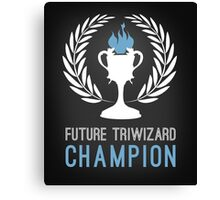 Triwizard World Cup Champ Canvas Print