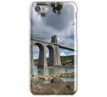 Menai Bridge, Anglesey iPhone Case/Skin