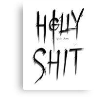 Holly Shit Canvas Print