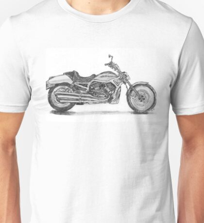 Harley V Rod Motorcycle  Unisex T-Shirt