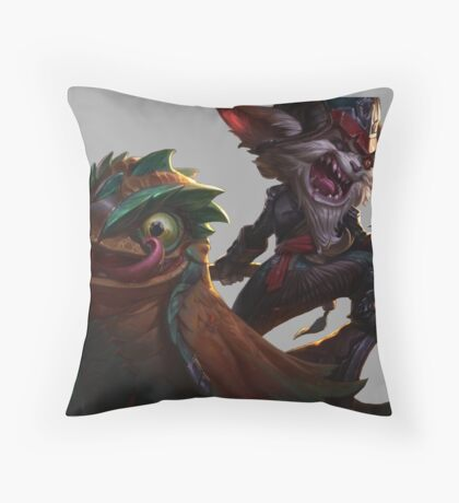 League of Legends - Kled Throw Pillow