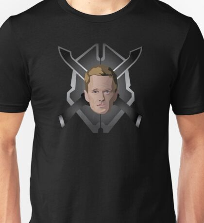 Legendary Halo Barney Head Unisex T-Shirt