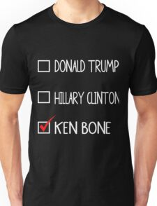 WE CHOOSE KEN BONE Unisex T-Shirt