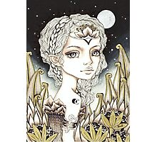 Silver Moon Photographic Print