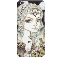 Silver Moon iPhone Case/Skin