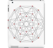 24 Cell Polytope iPad Case/Skin